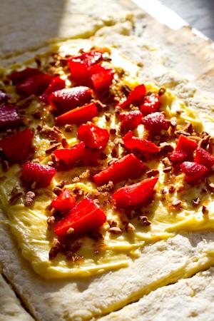 Gluten Free Strawberry Pecan Pastry Recipe