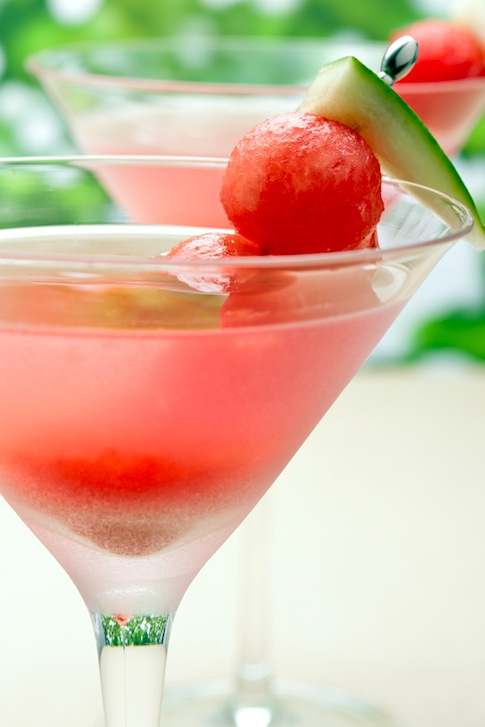 Agave Watermelon Lime Vodka-Tini