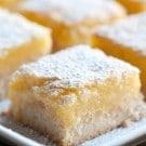 Isa's Recipe for Vegan Lemon Bars Recipe