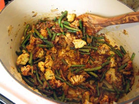 Moroccan Green Bean Tagine Recipe