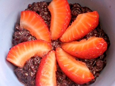 Black Thai Rice Pudding on http://www.theculinarylife.com