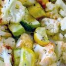 Roasted Cauliflower and Zucchini
