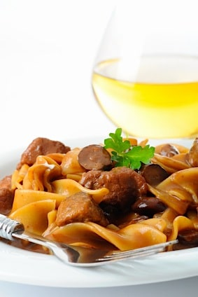 Formica's Righteously Easy Beef Stroganoff Recipe on https://www.fearlessfresh.com