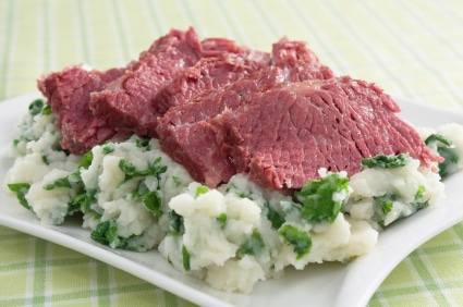 Colcannon Mashed Potatoes Recipe on http://www.theculinarylife.com