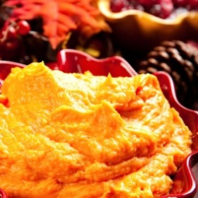 Mashed Sweet Potatoes with Sauvignon Blanc Recipe on http://www.theculinarylife.com