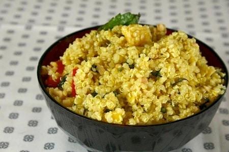 Quinoa With Mango And Curried Yogurt Recipes — Dishmaps