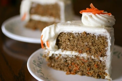 Easy Gluten Free Carrot Cake Recipe on http://www.theculinarylife.com