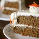 Tender-licious Easy Gluten Free Carrot Cake Recipe