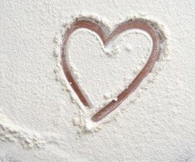 Flour Heart