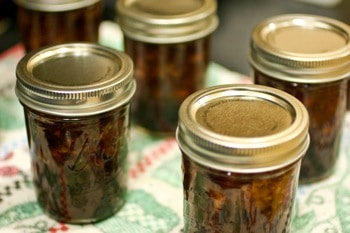 Peach Elderberry Jam on http://www.theculinarylife.com