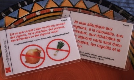 Eat Safely in Any Language