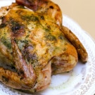 Whole Roast Chicken with Fenugreek Recipe