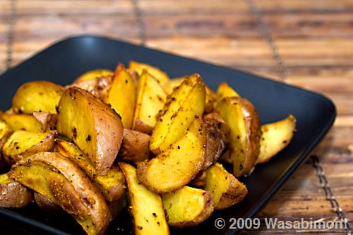 The Asian Barbecue Book, and Curried Potato Wedges on https://www.fearlessfresh.com