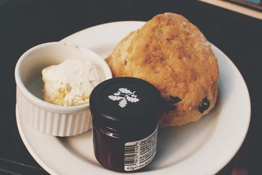 cream tea single