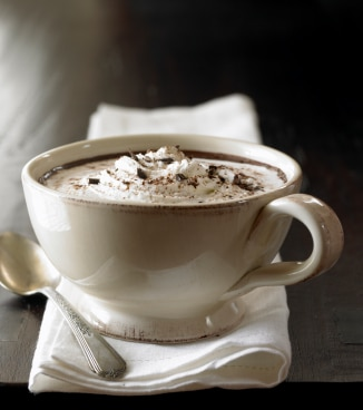 Peanut Butter Hot Cocoa Recipe on http://www.theculinarylife.com