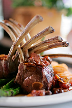 Rack of Lamb Recipe with Spicy Fennel Rub