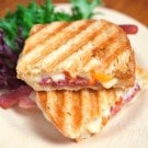 Prosciutto, Havarti and Tomato Panini Sandwich Recipe