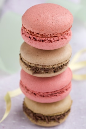 What Is The Difference Between Macarons and Macaroons? on http://www.theculinarylife.com