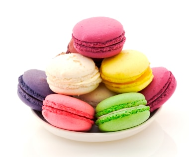 I Heart Macarons, by Hisako Ogita on http://www.theculinarylife.com