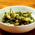 Casey's Spicy Green Bean Tempura Recipe