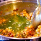 Indian Cooking Class + Chickpea Spinach Curry Recipe