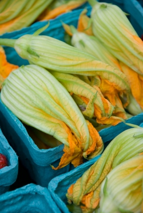 Fried Ricotta Stuffed Squash Blossoms Recipe on http://www.theculinarylife.com