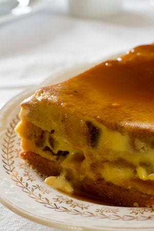 Gluten Free Orange Almond Bread Pudding on http://www.theculinarylife.com
