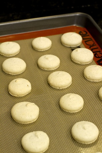Lemon Verbena Macarons on https://www.theculinarylife.com