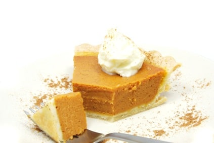 Gluten Free Butternut Squash Pie Recipe on http://www.theculinarylife.com