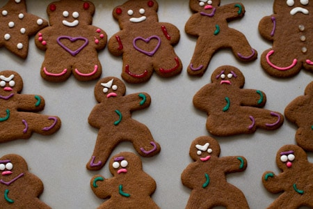 Spicy-Warm Gluten Free Ninjabread Gingerbread Men Recipe ...