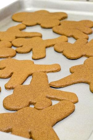 Gluten Free Gingerbread Men - Ninjabread - Fearless Fresh