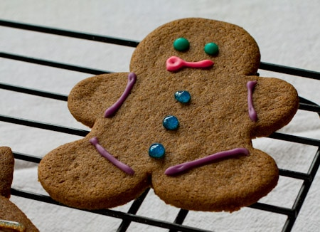 Gluten Free Gingerbread Men Recipe on http://www.theculinarylife.com
