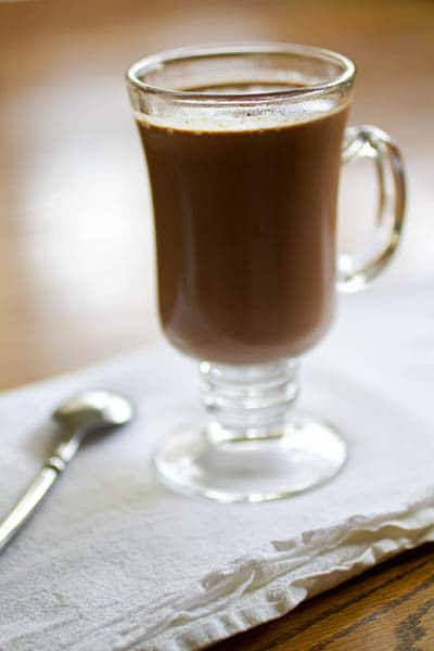 Peanut Butter Curry Hot Cocoa Recipe on http://www.theculinarylife.com