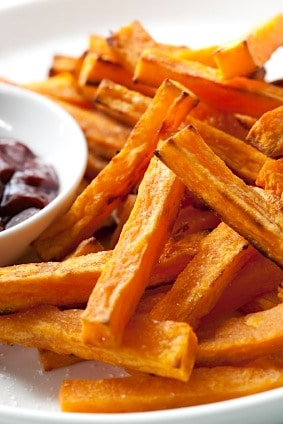 Sweet Potato Fries Recipe on http://www.theculinarylife.com