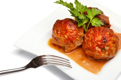 Polpettone alla Toscano, or Italian Meatballs on http://www.theculinarylife.com