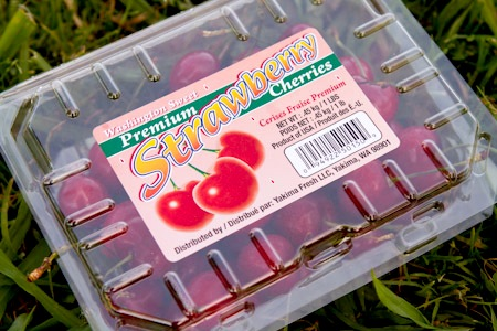 Strawberry Cherries on http://www.theculinarylife.com