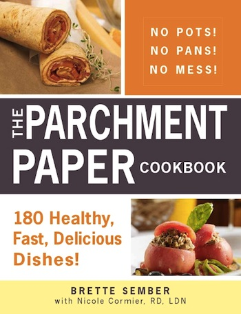 The Parchment Paper Cookbook on http://www.theculinarylife.com