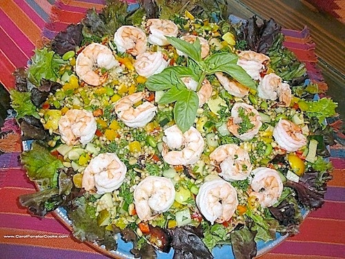 Sorghum-Tabbouleh Salad on http://www.theculinarylife.com