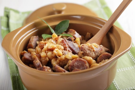 Chicken and Sausage Cassoulet on http://www.theculinarylife.com