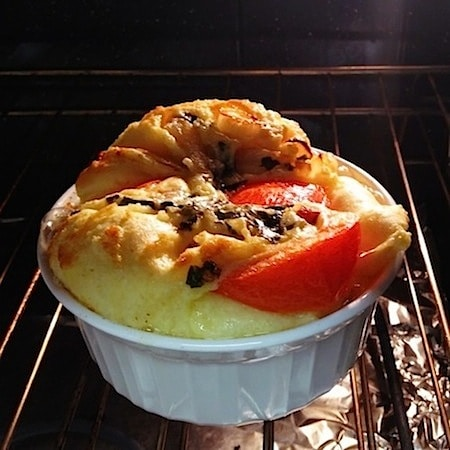 Savory Tomato Basil Dutch Baby Recipe