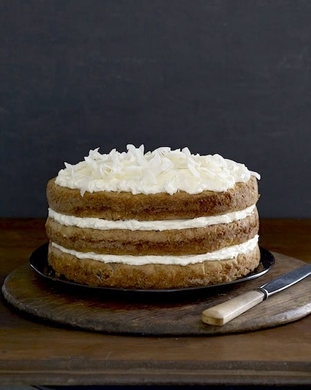 Three Layer Parsnip Cake Recipe with Cream Cheese Frosting