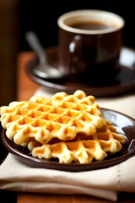 Spiced Sweet Potato Waffles Recipe