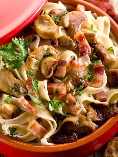 Braised Pork Pasta Recipe: Tagliatelle with Pork Shoulder