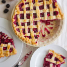 Saved By A Blackberry Pluot Fruit Pie