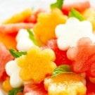 Cutest Watermelon Basil Salad Ever
