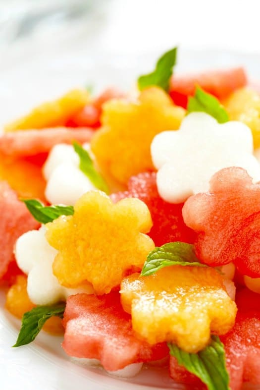 Cutest Watermelon Salad Ever on http://www.theculinarylife.com