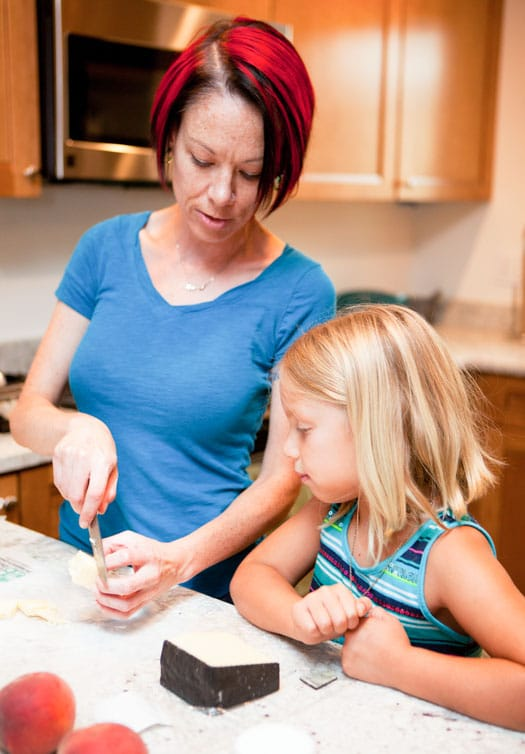Cooking with Kids for the California Food Literacy Center on http://www.theculinarylife.com