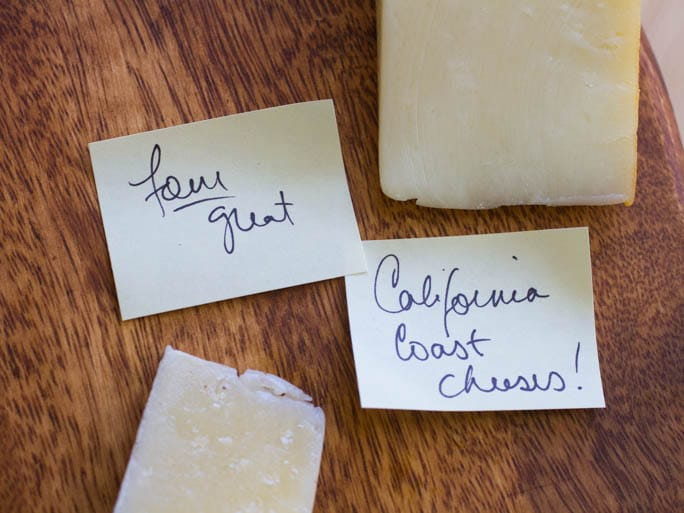Four Favorite California Cheeses on http://www.theculinarylife.com