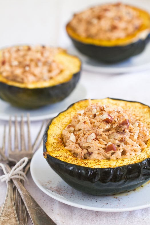 Winter Vegetables - Acorn Squash Recipe