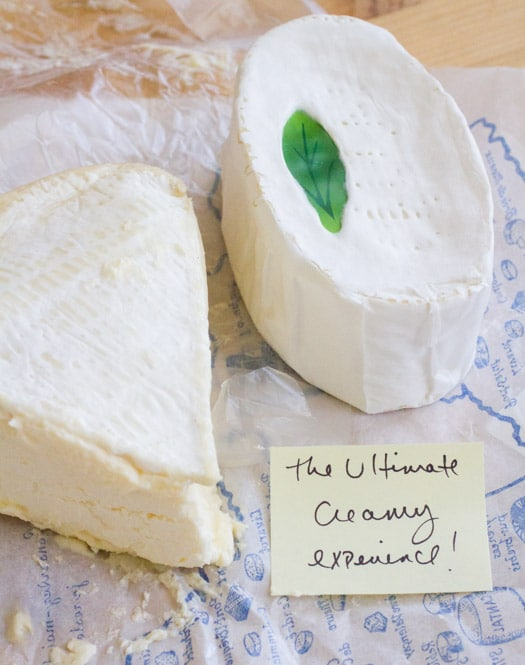 Four Creamy Cheeses Worth Dying For on http://www.theculinarylife.com